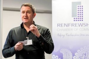 Life coaching for confidence at Renfrewshire Chamber of Commerce in Paisley
