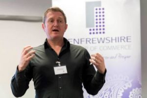 Life coaching for confdence at Renfrewshire Chamber of Commerce in Paisley