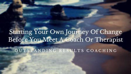 Starting your own journey of change image
